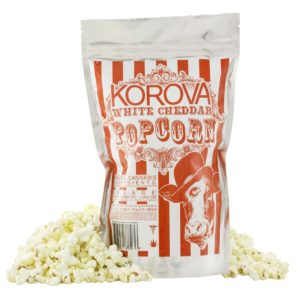 White Cheddar Popcorn snacks