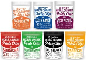 Medical Cannabis Chips snacks