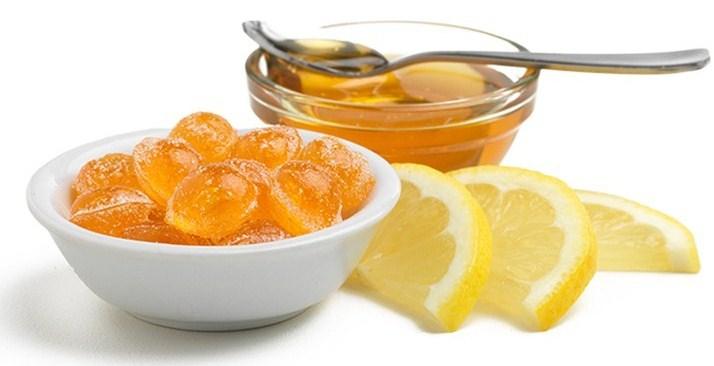 Lemon-Honey Soother hard candies