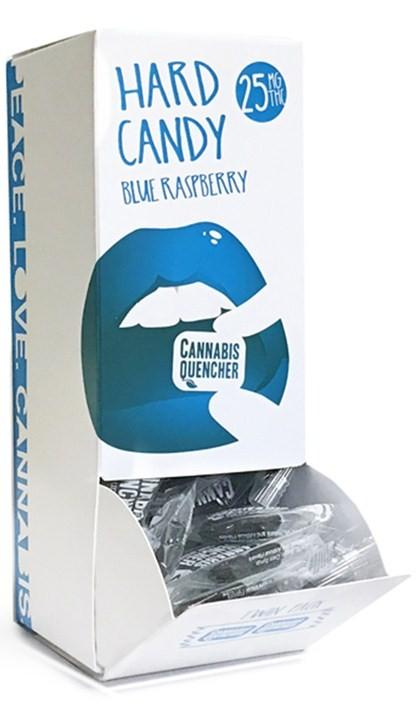 Blue Raspberry Cannabis Quencher Hardy Candies