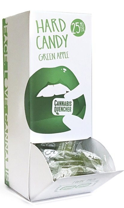 Green Apple Cannabis Quencher Hardy Candies
