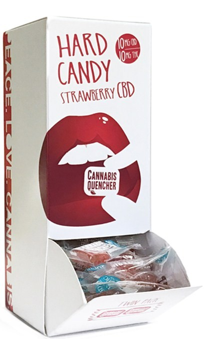 Strawberry CBD Cannabis Quencher Hardy Candies