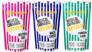 Medical Cannabis Popcorn