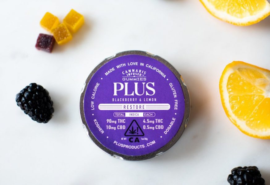 Plus Products 90mg Blackberry & Lemon Gummies (2019 Review) | Nugg