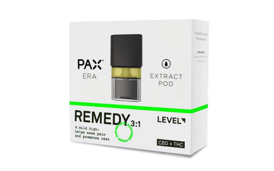 Level Remedy 3:1 CBD:THC PAX Pod (2019 Review) | Nugg